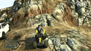 GTA V Secret Car LOCATIONS Dune Buggy & Quad Bike