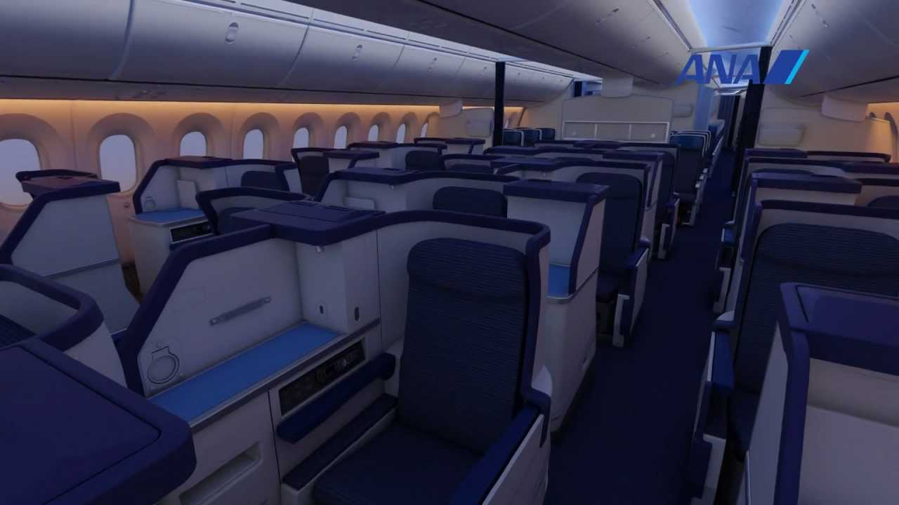 Boeing 787 interior coach viewing gallery - View Image