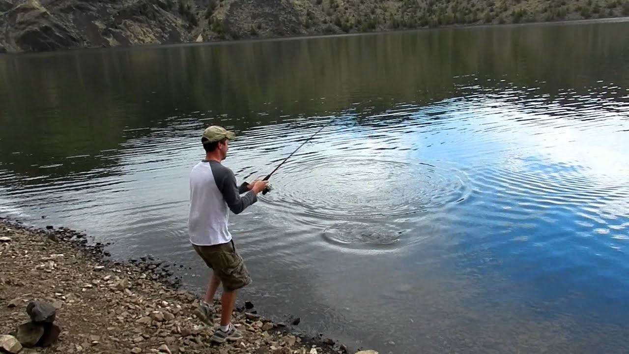 prineville reservoir bait fishing youtube