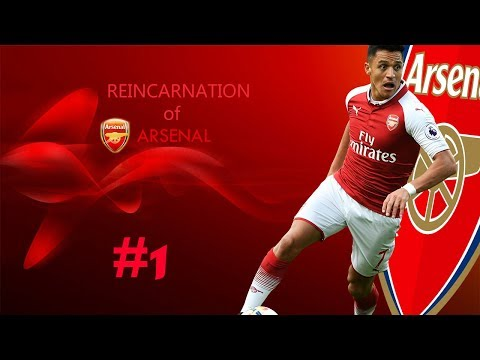 Reincarnation of Arsenal|Fifa 17-18 mod |Arsenal career mode|ep-1