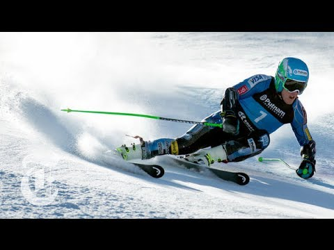 Olympics 2014 | Ted Ligety: Giant Slalom (GS) Skier's Unique Turning | The New York Times