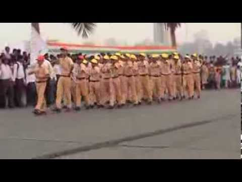 Republic Day Parade 2014 Bandra W Mumbai