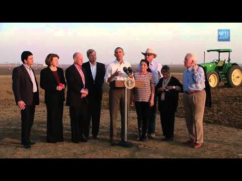 Video: President Obama Speaks on Response to the California Drought