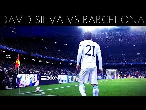 David Silva vs Barcelona (A) 2013-2014 UCL HD
