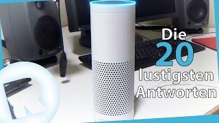 Amazon Echo - Die 20 lustigsten Antworten von Alexa