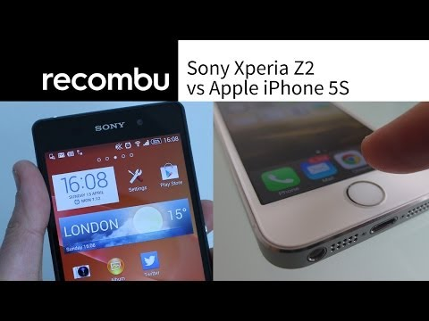 Sony Xperia Z2 vs Apple iPhone 5S: Which is best?