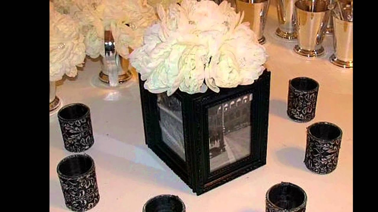 Boda tem tica blanco y negro martinez camila youtube - Decoracion salon blanco y negro ...