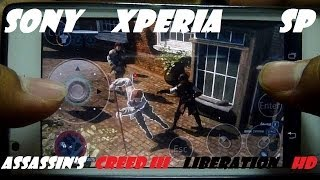 Sony Xperia SP Assassins Creed Liberation HD Android