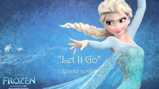 "Let It Go Disney's ""Frozen"" Demi Lovato Version (piano"