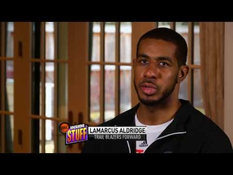 Getting to know LaMarcus Aldrige on NBA Inside Stuff