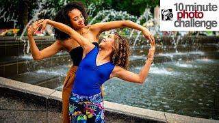 DEAF DANCER Rocks 10 Minute Photo Challenge With Strangers (*Giveaway*)