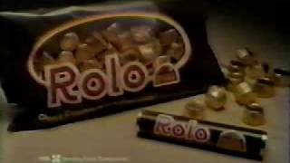 VINTAGE 80'S ROLOS COMMERCIAL WITH SMILING STATUE