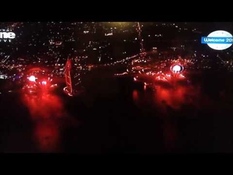 Dubai New Year's Eve World Record Fireworks 2014 full HD