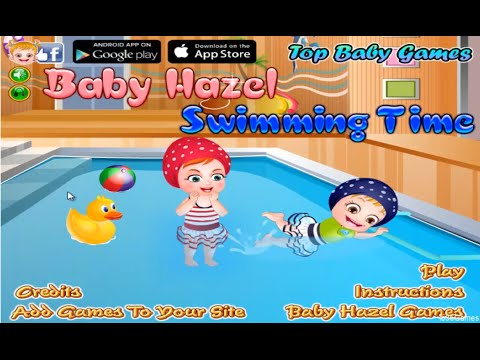 Baby Hazel Swimming Time 3D Game-Best Cute Baby Games- 3D Movie Game 2014