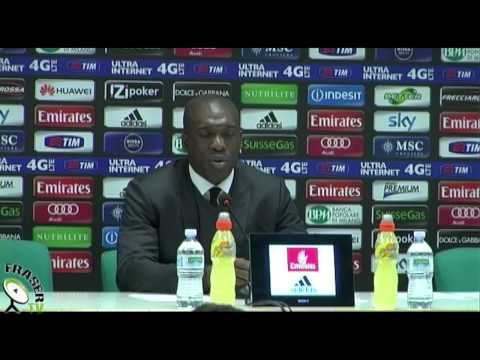 AC MILAN: Seedorf post Juve