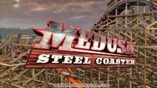 Medusa Steel Coaster @ Six Flags México Anuncio Oficial