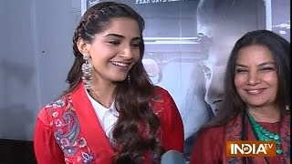 Exclusive Interview : Sonam Kapoor, Shabana Aazmi Promote Their Upcoming Movie 'Neerja'