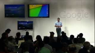 Nexus 7 & Chromecast Press Event - 7/24/13