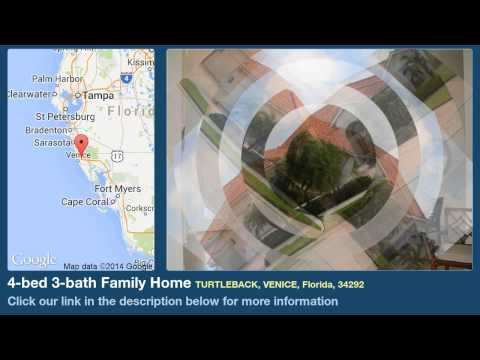 4-bed 3-bath Family Home for Sale in Venice, Florida on florida-magic.com