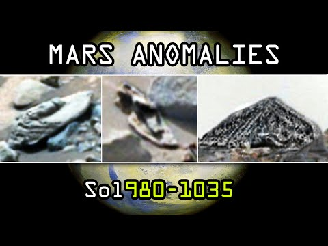 Mars anomalies exposed. BEST COMPILATION 2015! Sol 980-1035