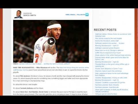 Mike Woodson Fired as Knicks Head Coach