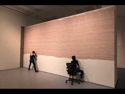 Time Lapse of Sol LeWitt's