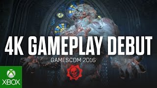 Gears of War 4 - Gameplay Debut Gamescom 2016