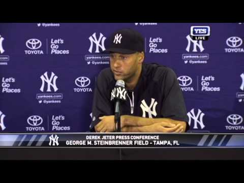 The impact of other MLB players retiring on Derek Jeter's decision
