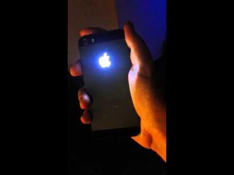 iPhone 5 LED Apple Logo