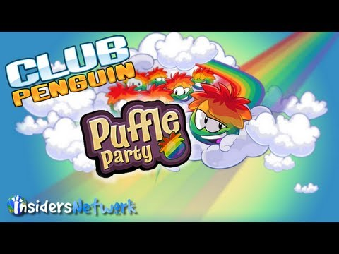 Club Penguin: Puffle Party 2013 , Club Penguin: Puffle Party 2013 Cheats - The Puffle Party has begun and you can finally get the elusive rainbow puffle! Follow us: http://twitter.com/CPInsid...