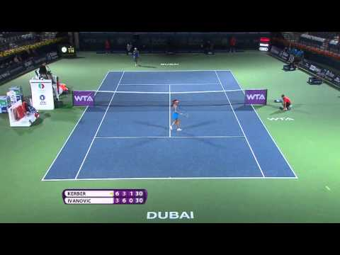 2014 Dubai Duty Free Tennis Championships Day 2 WTA Highlights
