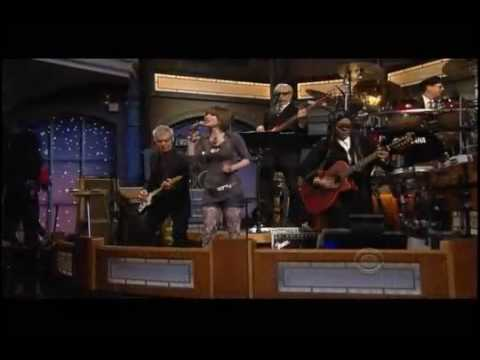 Siobhan Magnus - David Letterman Show (Paint it Black)