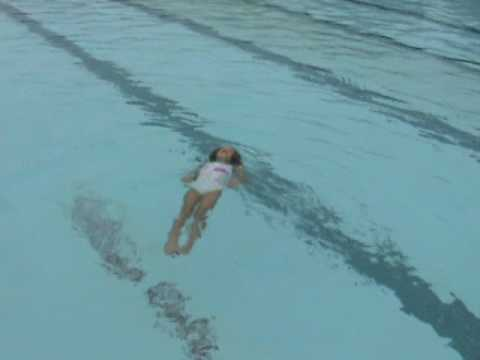 Ava swimming to elvis chicken airplane soldier youtube for Swimming chicken