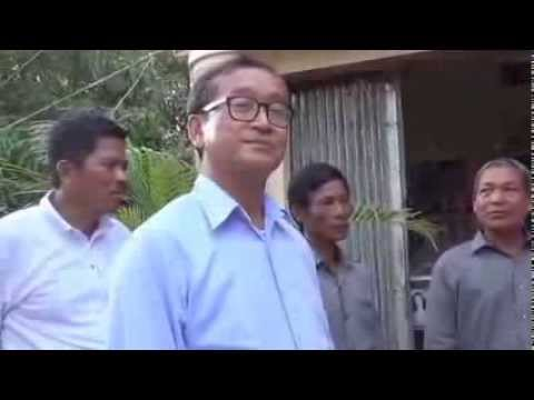 Sam Rainsy Visits Citizens in Komreang District in Battambong - Part2