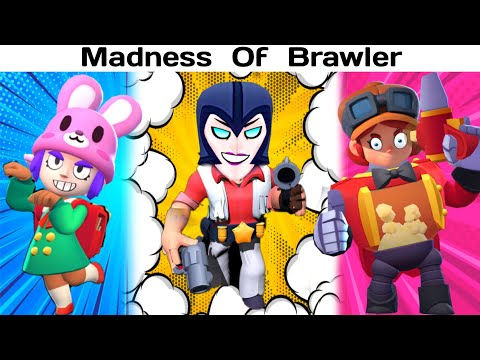 MADNESS OF BRAWLER!!! | Brawl Stars Funny Moments & Montage