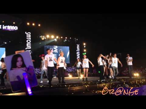 [25112012][Fancam] SNSD Ending SM Town in BKK