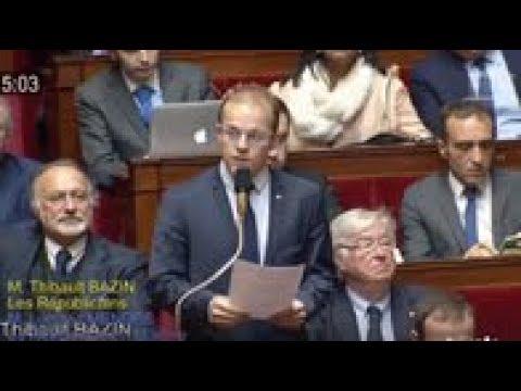 M. Thibault Bazin - Politique d'aménagementt du territoire