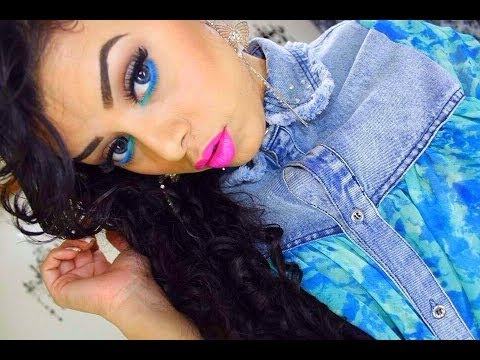 Maquillaje Colorido para Primavera por Jeamileth