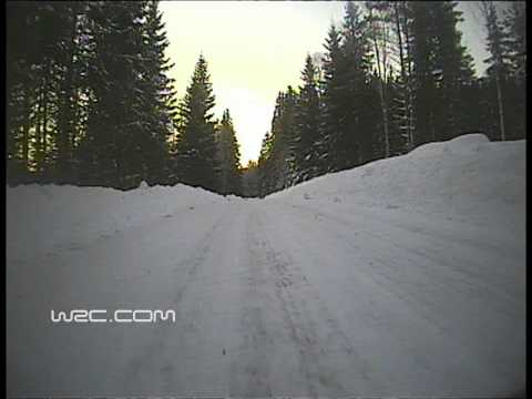 WRC Onboards: Rally Sweden 2011 - Mikko Hirvonen SS17. Requested by MrGRANDEJOHN