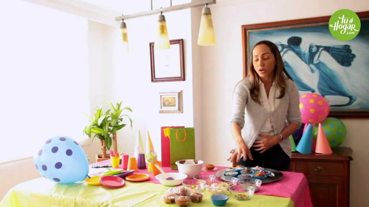 Ideas para una linda fiesta infantil sin gastar mucho for Juego de organizar casa