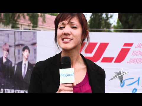 JYJ 2011 World Tour San Jose Concert (Pre-Concert Highlights & Fan Games) - heyyaa! HD