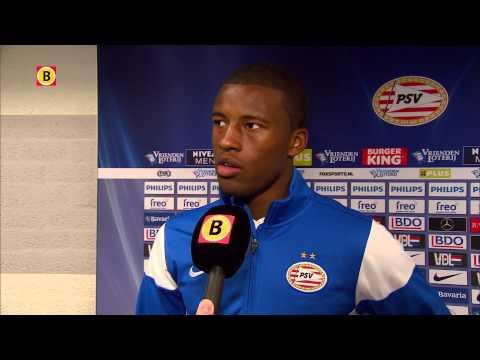 Georginio Wijnaldum: 'Het is een zwaar en moeilijk seizoen voor PSV geweest'