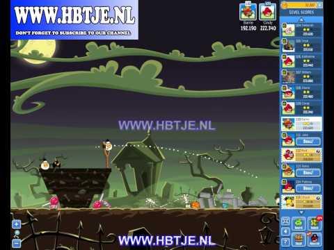 Angry Birds Friends Tournament Level 6 Week 77 halloween (tournament 6) no power-ups