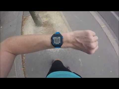 Garmin Forerunner 25 (FR25) First Run!