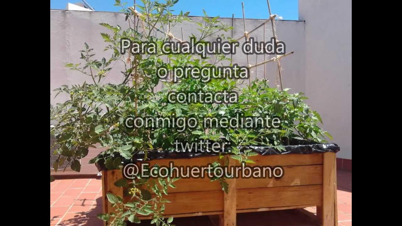 Como hacer una mesa de cultivo como hacer tu propio huerto for Como hacer una mesa de cultivo casera