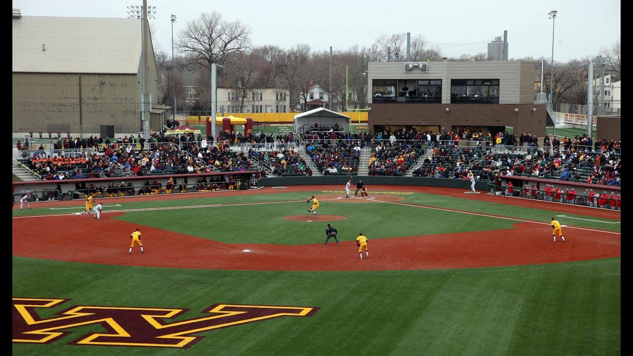 gopher baseball debuts new siebert field