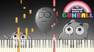 The Faith Song - The Amazing World of Gumball [Piano Tutorial] (Synthesia)