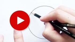 How To Draw A Perfect Circle With Pencil 2| Very Easy