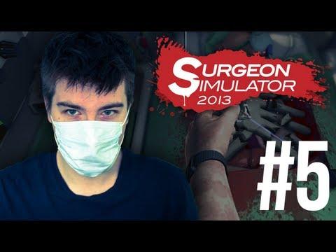Surgeon Simulator 2013: Nerki + RAGE QUIT [#5]