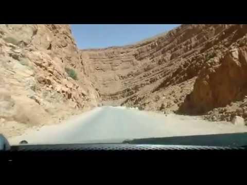 مضايق تودغا سحر الطبيعة بالمغرب